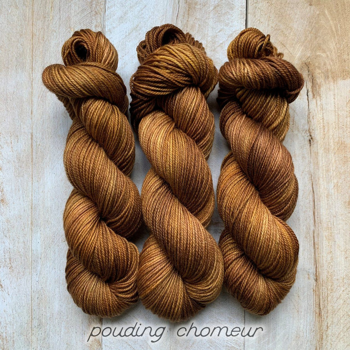 POUDING CHOMEUR by Louise Robert Design | DK PURE hand-dyed semi-solid yarn