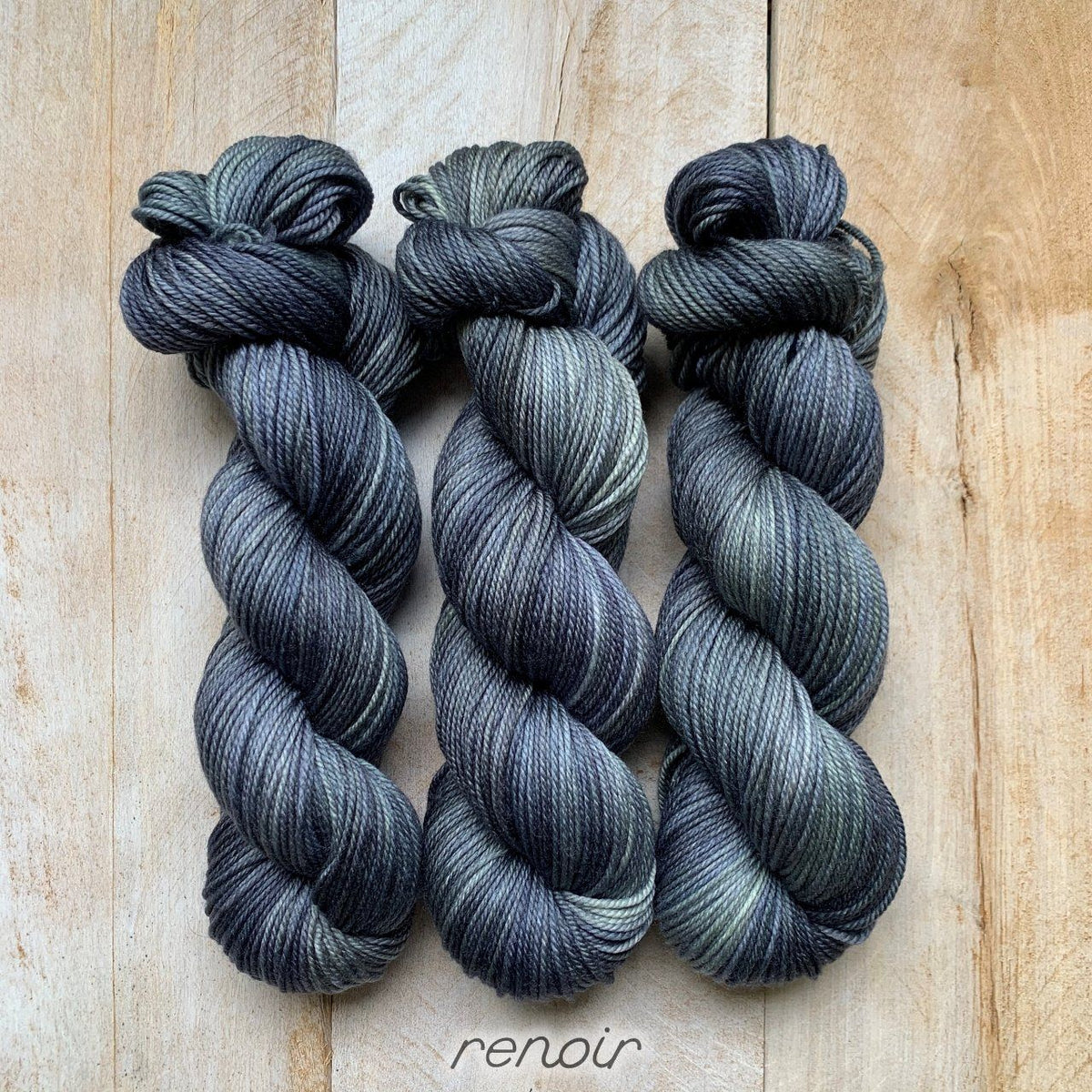 RENOIR by Louise Robert Design | DK PURE hand-dyed semi-solid yarn