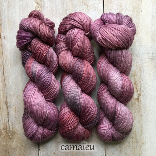 CAMAÏEU by Louise Robert Design | SUPER SOCK hand-dyed Variegated yarn