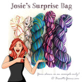 Josie's surprise bag of yarn | Mill end of self-striping sock yarn!