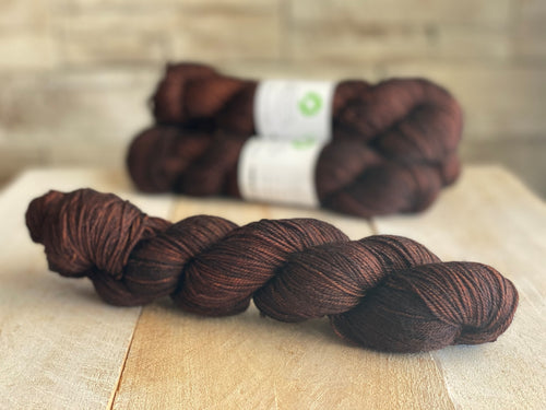 La Douce MCN Sport Weight Yarn 🐏 Chocolat