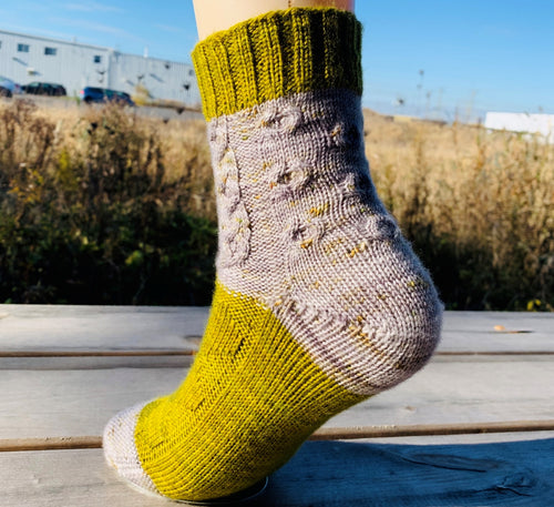 The Forester | Free Knitting Socks Pattern