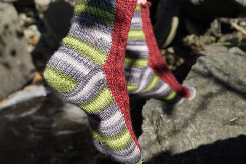 Vipere's tongue sock pattern