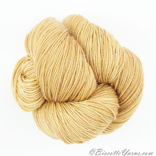 Sparkle hand-dyed yarn LUMOS - AMBRE