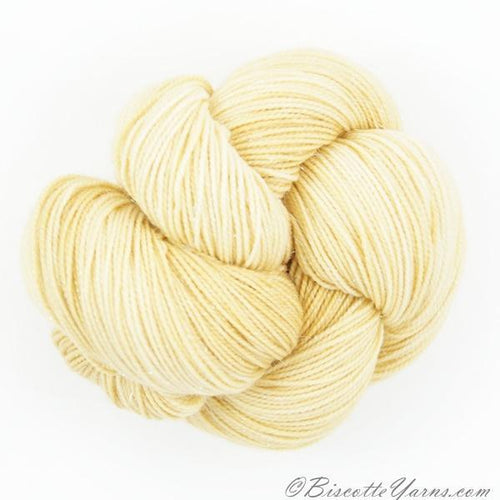 Sparkle hand-dyed yarn LUMOS - BISCUIT