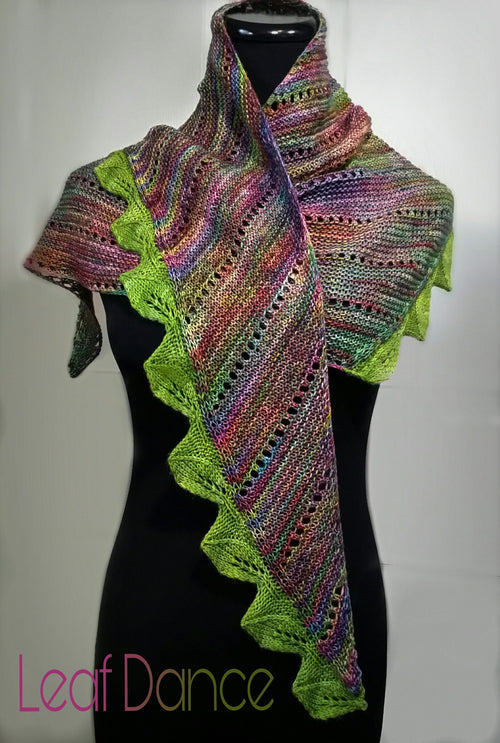 Leaf Dance Shawl Pattern