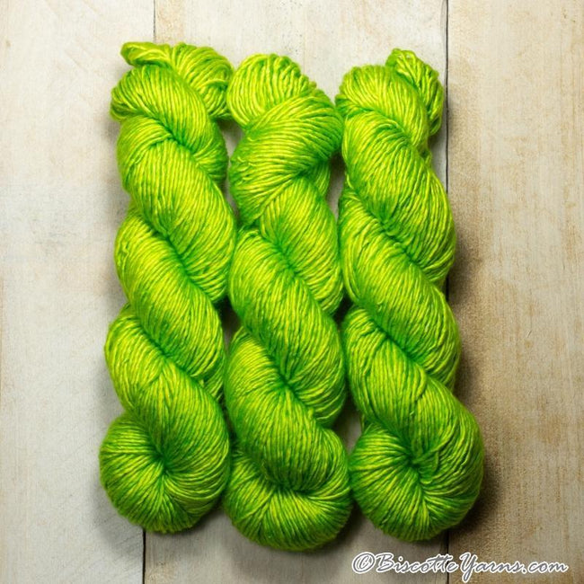Albus - Merino and Silk yarn LIMETTE