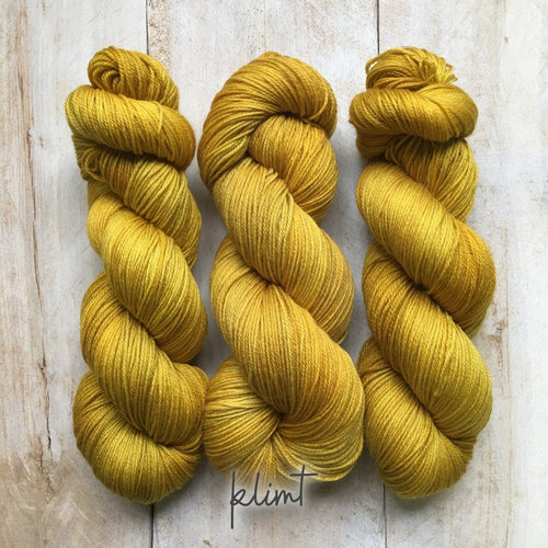 KLIMT by Louise Robert Design | SUPER SOCK hand-dyed semi-solid yarn