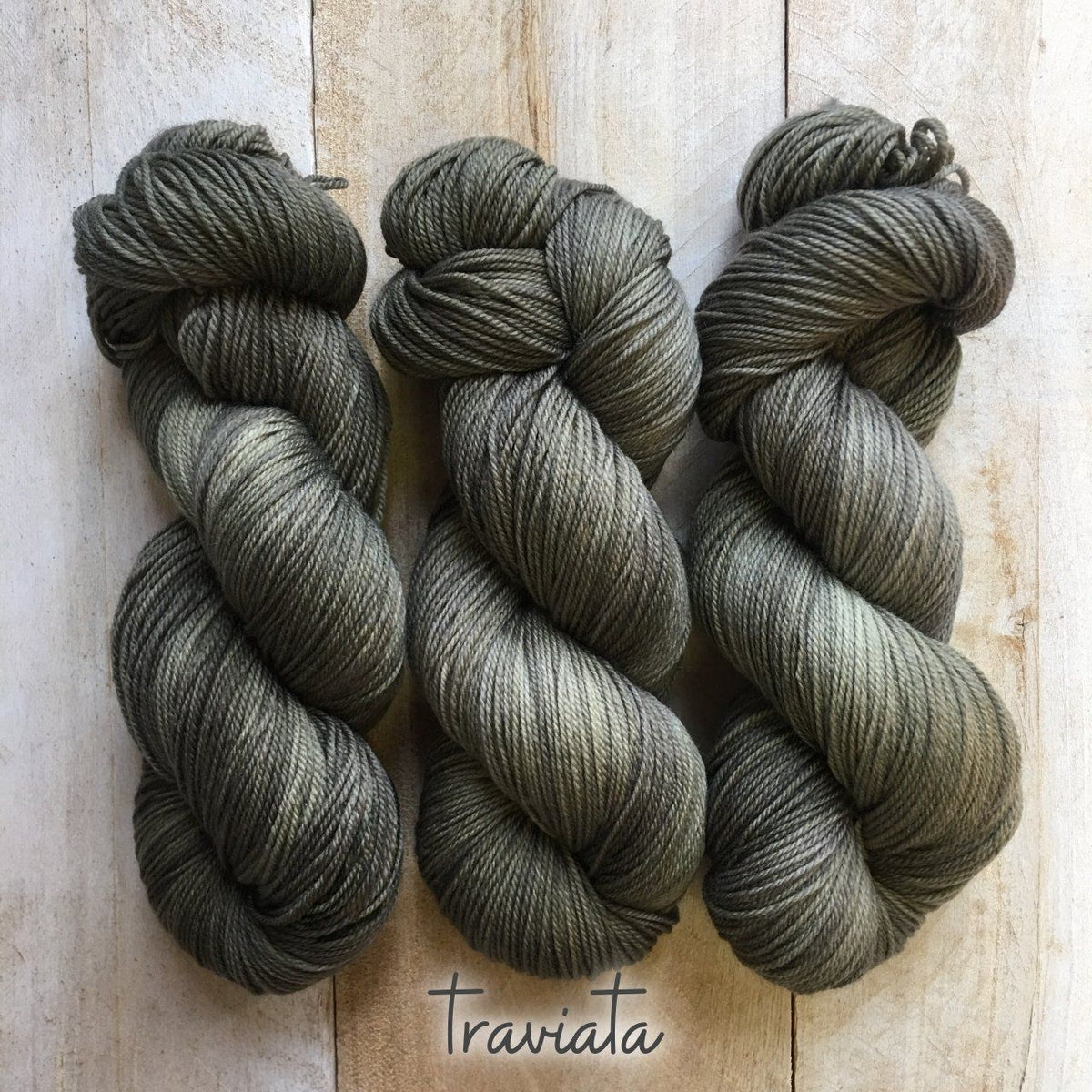 TRAVIATA by Louise Robert Design | SUPER SOCK hand-dyed semi-solid yarn