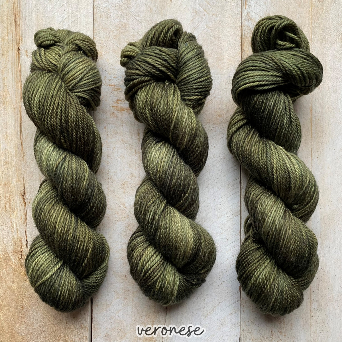VERONESE by Louise Robert Design | MERINO WORSTED hand-dyed Variegated yarn