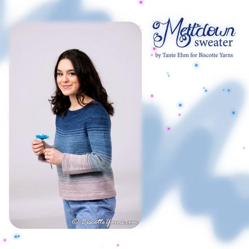 Knitting pattern ♥ Meltdown sweater
