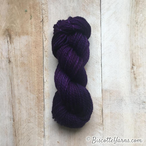 GRIFFON merino hand-dyed yarn PURPLE 419