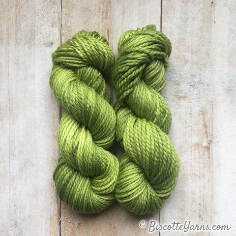 Sparkle hand-dyed yarn LUMOS - LAGON
