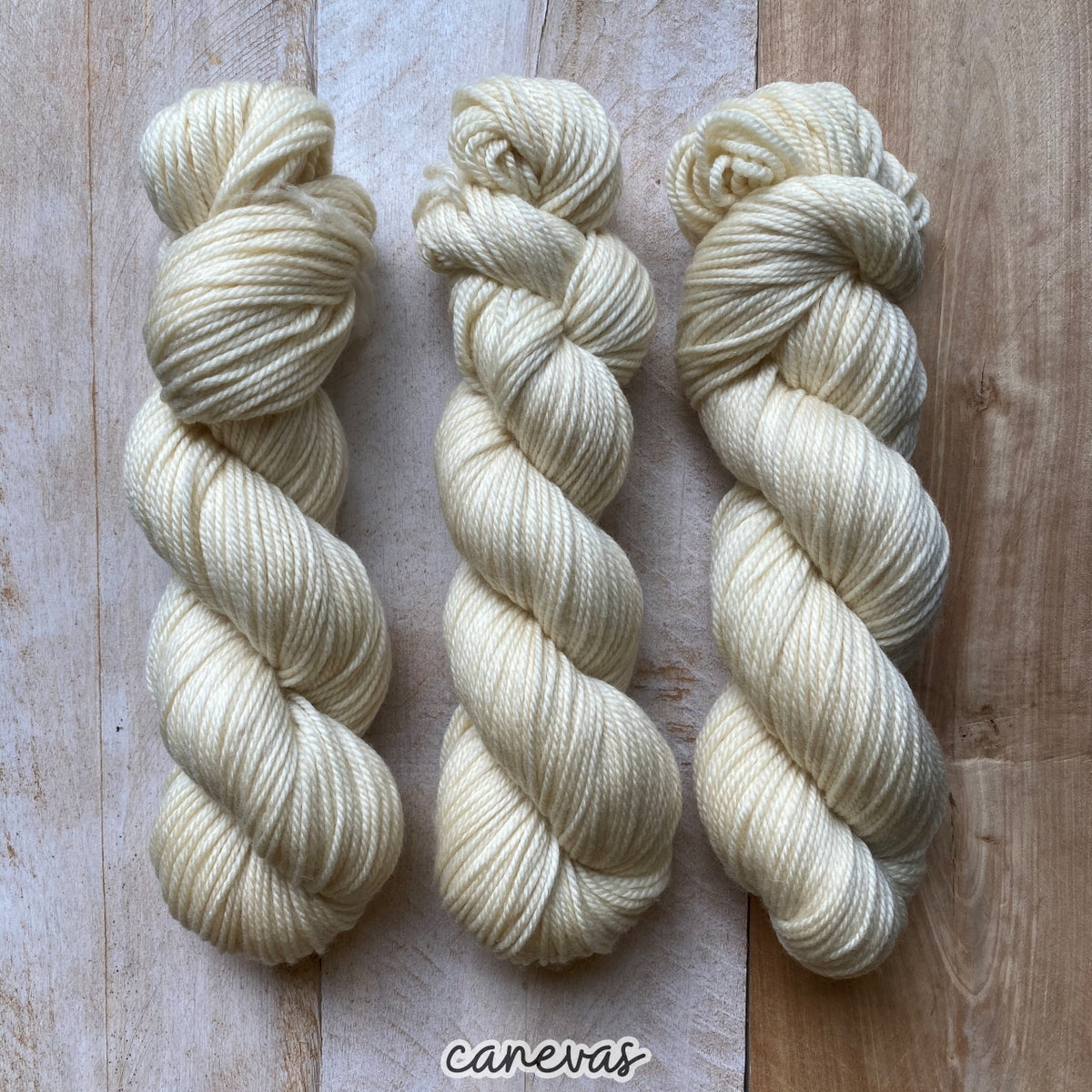 CANEVAS by Louise Robert Design | MERINO WORSTED hand-dyed semi-solid yarn