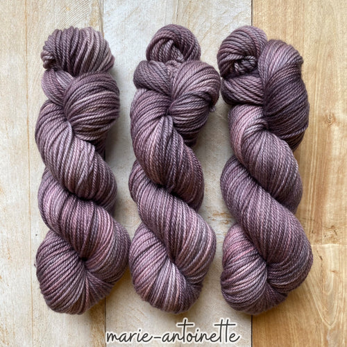 MARIE-ANTOINETTE by Louise Robert Design | MERINO WORSTED hand-dyed semi-solid yarn