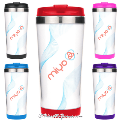 Insulated Stainless Steel DIY Tumbler Miyo® ♥