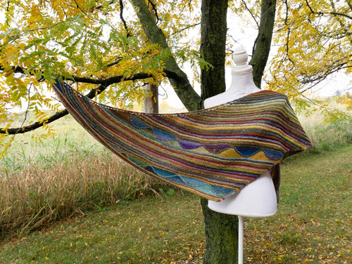 Octopus Garden Shawl | Free Knitting Pattern