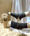 In The Grass Zig-Zag Socks | Free Knitting Pattern