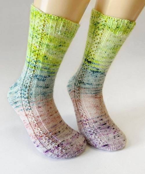 Socks pattern - Bas Fondants