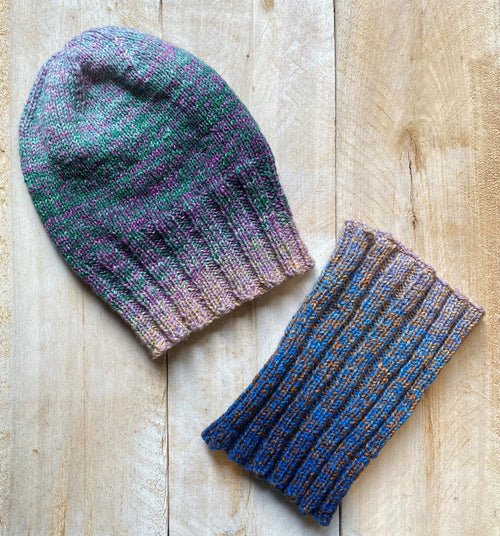 AVATAR - Hat & Neck Warmer free knitting pattern