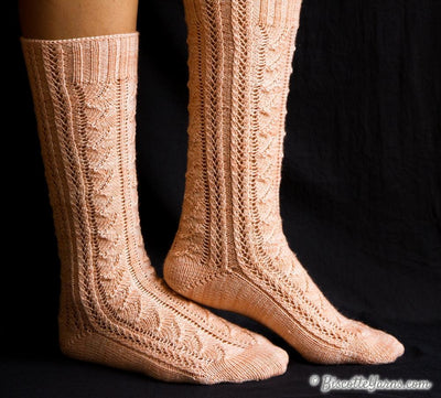 Whisperer Socks - FREE Pattern