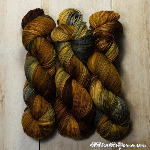DK PURE | variegated dk weight yarn Beaver tail