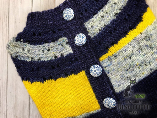 Ray of Soleil Cardigan | Free Knitting Pattern