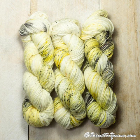 DK weight yarn ♥ Boomerang self-striping hand-dyed yarn