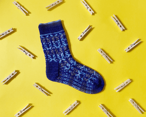 XO Socks | Knitting Pattern