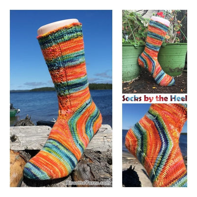 Socks by the Heel FREE socks pattern