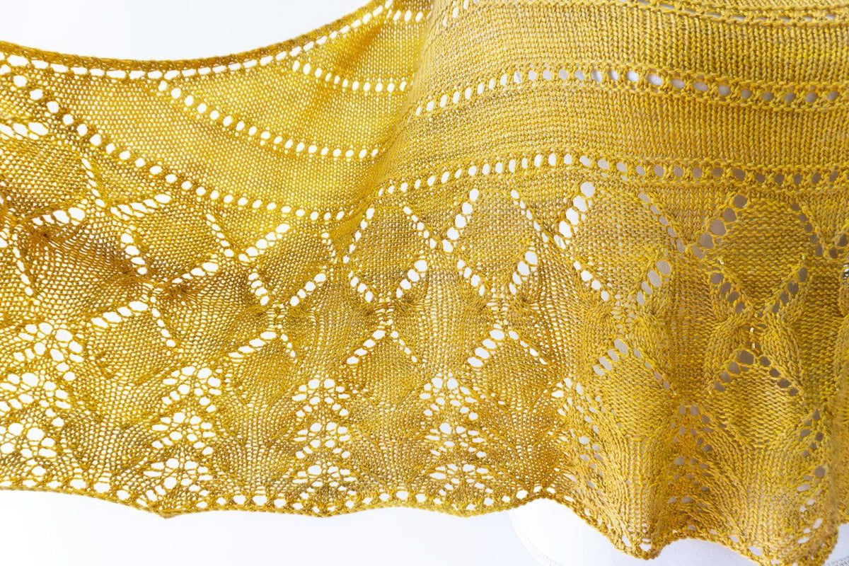 Summer Butterflies Shawl Knitting Pattern