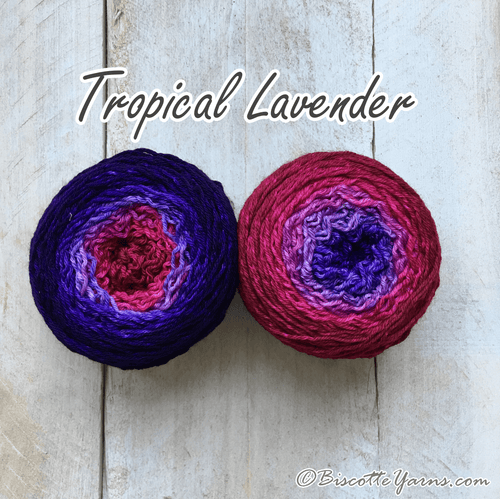 Bis-Sock Mini-Metamorph | Tropical Lavender | 2 X 50g