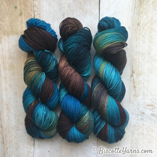 Bis-Sock hand-dyed sock yarn  Variegated | Rockies