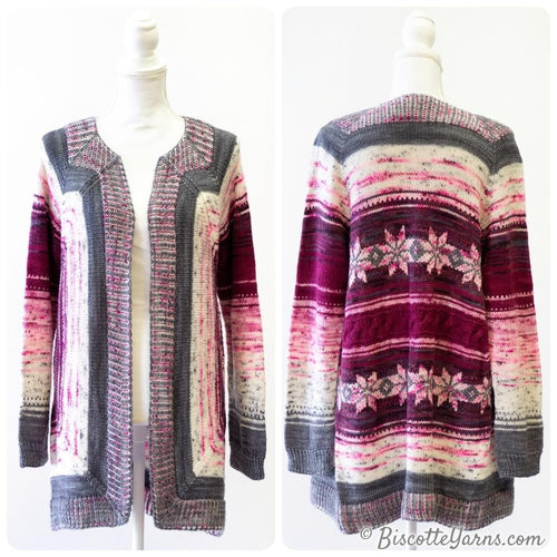 Knitting pattern - Vortex Cardigan