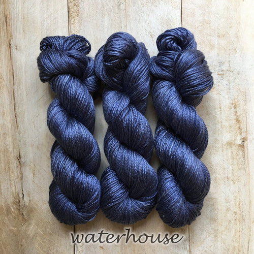 WATERHOUSE by Louise Robert Design | ALGUA MARINA hand-dyed semi-solid yarn