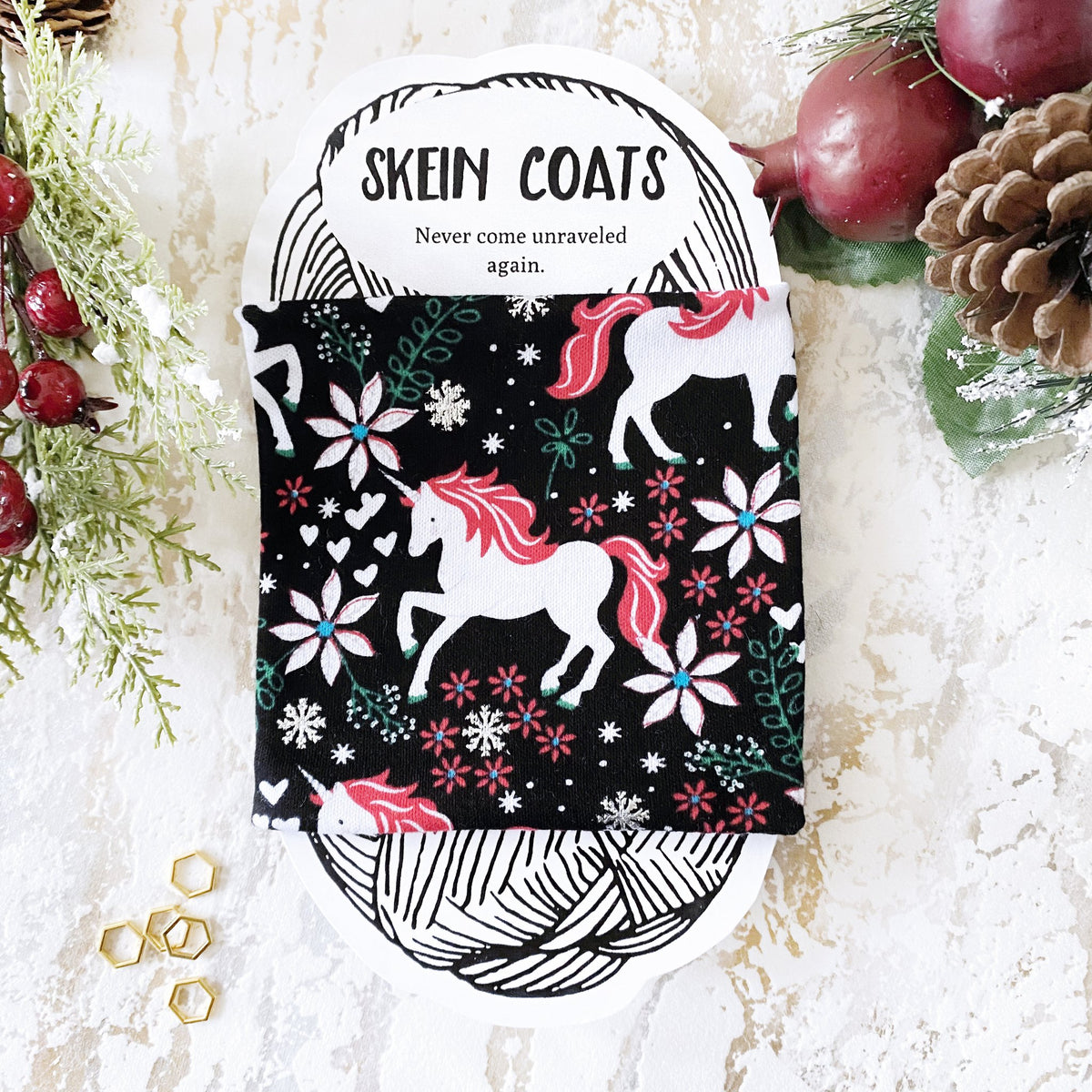 Skein Coats ♥ Your yarn will never come unraveled again