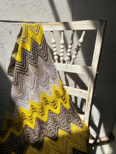 Zigging the Zag - Free Shawl Pattern