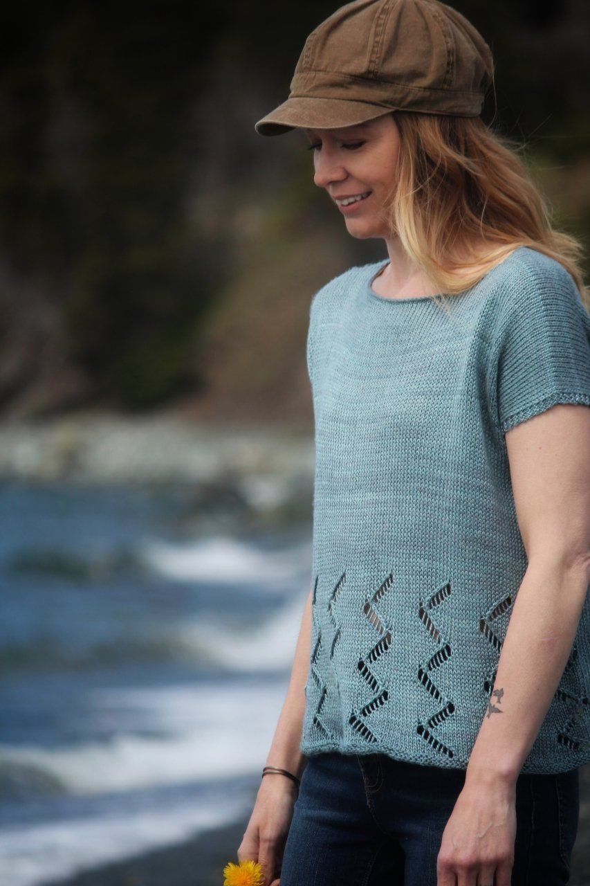 Ziggy Tee | Knitting pattern