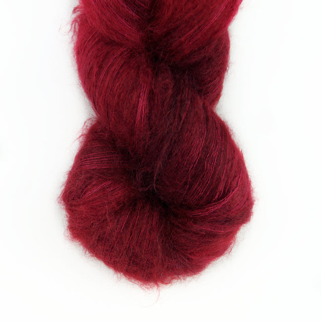 Hand-Dyed Kid Silk Yarn | Hermione ACAJOU  | 100g or 50g