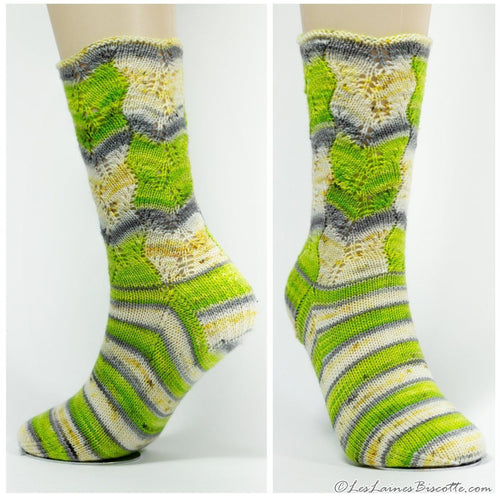 Bargello Socks | Knitting Pattern