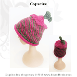 Rigolos children's hats Ebook - 8 knitting patterns - Biscotte yarns  - 4