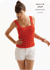 Free Cheval Blanc pattern - Women's camisole cat.18-16