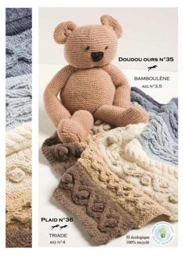 Free Cheval Blanc pattern - Teddy bear cat.15-35