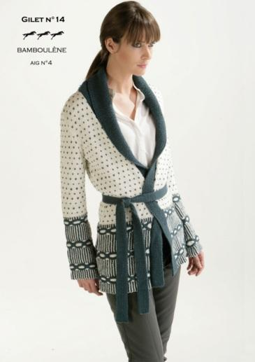 Free Cheval Blanc pattern - Women's vest cat.15-14