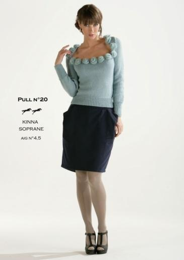 Free Cheval Blanc pattern -  Women's sweater cat.15-20