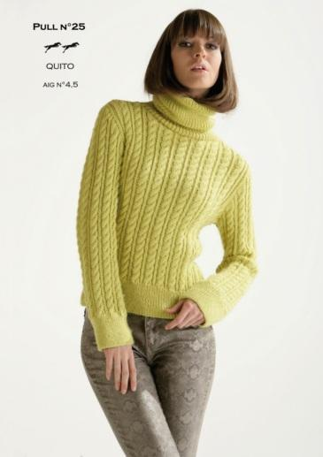 Free Cheval Blanc pattern - Women's sweater cat.15-25