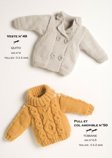 Free Cheval Blanc pattern - Baby vest cat.15-49