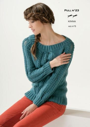Free Cheval Blanc pattern -  Women's sweater cat.15-23