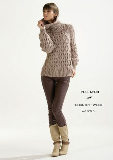 Free Cheval Blanc pattern - Women's sweater cat.15-08