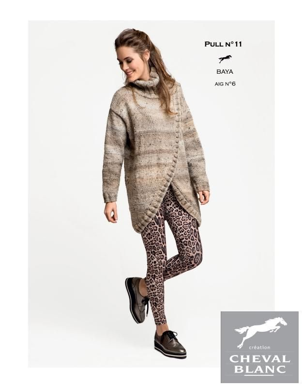 Free Cheval Blanc pattern - Jumper - Cat. 25-11
